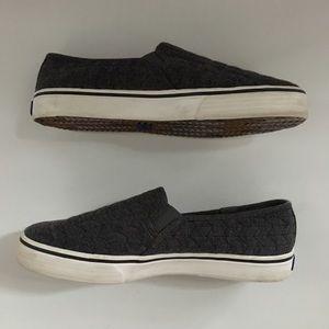 Keds Gray Slip On Shoes Size 8